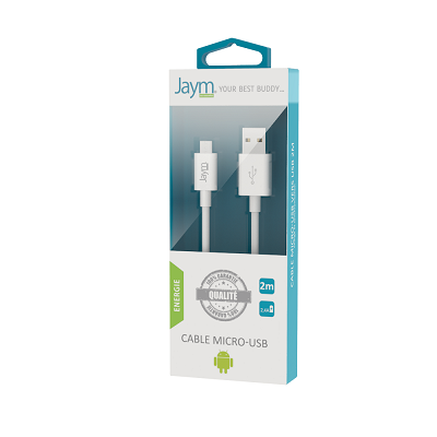CABLE USB MICRO-USB 2M