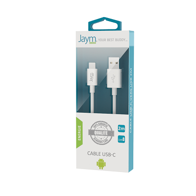 CABLE USB TYPE-C 2M