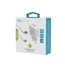 PACK CABLE TYPE-C 2M + CHARGEUR SECTEUR 2 USB