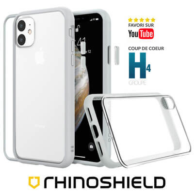 COQUE RHINOSHIELD MODULAIRE GRIS IPHONE 11