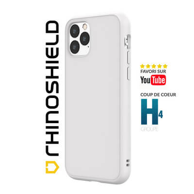COQUE RHINOSHIELD CLASSIC BLANC IPHONE 11 PRO