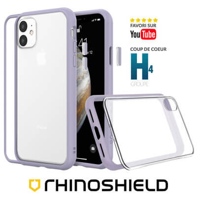 COQUE RHINOSHIELD MODULAIRE VIOLET IPHONE 11