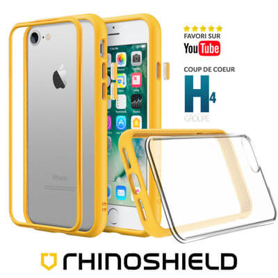 COQUE RHINOSHIELD MODULAIRE JAUNE IPHONE 7