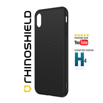 COQUE RHINOSHIELD CLASSIC FIBRE DE CARBONE IPHONE XR