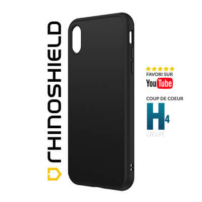 COQUE RHINOSHIELD CLASSIC NOIR IPHONE XS MAX