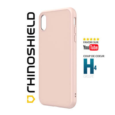 COQUE RHINOSHIELD CLASSIC ROSE IPHONE XS MAX