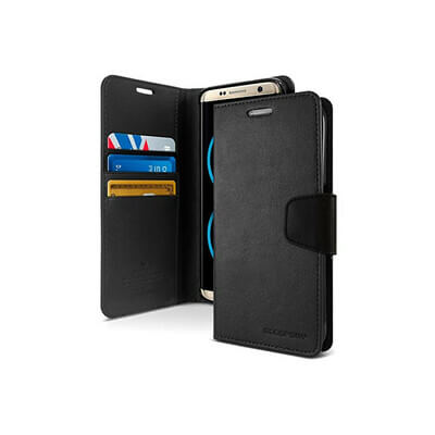 ETUI PORTEFEUILLE NOIR IPHONE 11