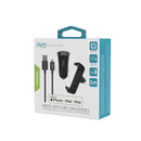 PACK VOITURE : SUPPORT + PRISE 2 USB + CABLE LIGHTNING