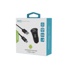 PACK CABLE TYPE-C 1M + CHARGEUR VOITURE 2 USB