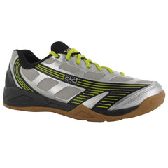Hi-Tec Infinity Indoor Black Yellow Mens - The Racquet Shop