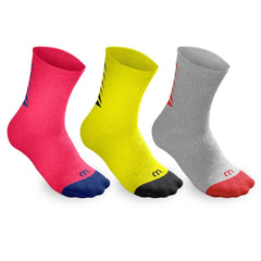 Wilson Youth Crew Socks 3pk