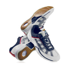 Salming Viper White Navy - The Racquet Shop