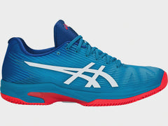 Asics Gel-Solution Speed FF Clay Azure White - The Racquet Shop
