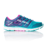 Salming Miles Run Green Pink Ladies - The Racquet Shop