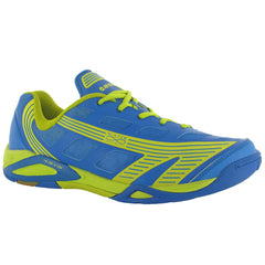 Hi-Tec Infinity Flare Blue Lime Mens - The Racquet Shop