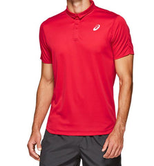 Asics Mens Club Polo Speed Red