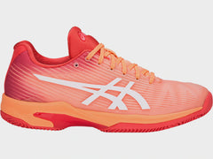 Asics Gel-Solution Speed FF Clay Womens Mojave White - The Racquet Shop
