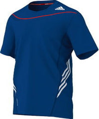 Adidas G92675 Adizero Tee Royal - The Racquet Shop