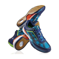 Salming Viper 2.0 Navy Cyan Mens - The Racquet Shop