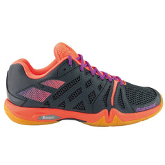 Babolat Shadow Team Indoor Womens Anthracite Fluo Pink - The Racquet Shop