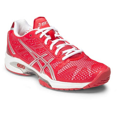 Asics Gel-Solution Speed 2 Womens Hib/Silv/Wht