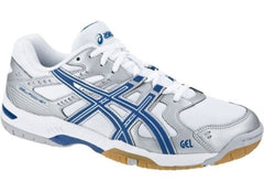 Asics Gel Rocket 6 Silver Blue White Mens - The Racquet Shop