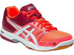 Asics Gel-Rocket 7 Womens FL Cor/Whi/Cer - The Racquet Shop