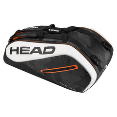 HEAD Tour Team 9R Supercombi Black White - The Racquet Shop