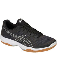 Asics Gel-Tactic Mens Black Silver - The Racquet Shop