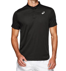 Asics Mens Club Polo Performance Black