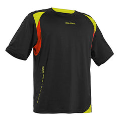 Salming 365 Training Tee Black Red - The Racquet Shop