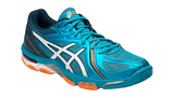 Asics Gel-Volley Elite 3 Blue/Whi/Hot - The Racquet Shop