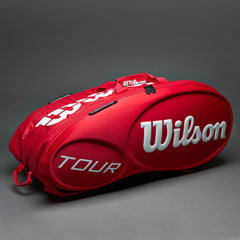 Wilson Tour Moulded 15PK Bag Red - The Racquet Shop