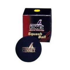 Pro Kennex Squash Ball Single Yellow x1