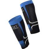 Mico Oxijet Compression Calf Blue Black - The Racquet Shop