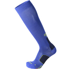 Mico Long Running Sock Blue Black - The Racquet Shop