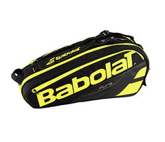 Babolat Pure 6 Pack Black Yellow - The Racquet Shop