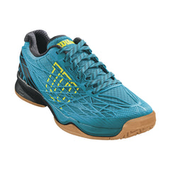 Wilson Kaos Indoor Mens Enamel Blue Black Yellow - The Racquet Shop