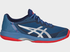 Asics Gel-Court Speed Clay Mens Azure Blue Print - The Racquet Shop