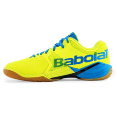 Babolat Shadow Tour Mens Indoor Blue Fluo Yellow - The Racquet Shop