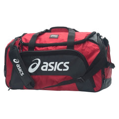 Asics Large Duffle Bag (Red) - The Racquet Shop