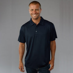 Easy Wolf EW15 Polo Navy - The Racquet Shop