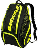Babolat Pure Back Pack Black Yellow - The Racquet Shop