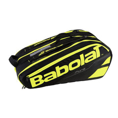 Babolat Pure 12 Pack Black Yellow - The Racquet Shop