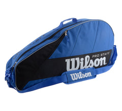 Wilson Pro Staff 3 Pack Tennis Bag (Blue - The Racquet Shop