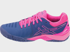 Asics Gel-Resolution 7 Womens Blue Print - The Racquet Shop