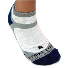 Karakal X4 Trainer Sock Blue/White 7-12 - The Racquet Shop