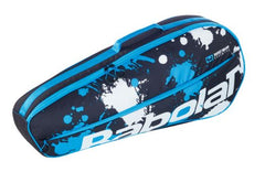 Babolat Club Essential 3 Pack Black Blue White Racquet Bag