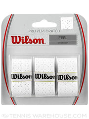 Wilson Pro Overgrip Perforated 3 Pack - The Racquet Shop
