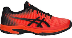 Asics Gel-Solution Speed FF Clay (Herringbone) Cherry Tomato/Black - The Racquet Shop
